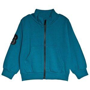The BRAND Petrol Big B-Moji Zip Sweatshirt 92/98 cm