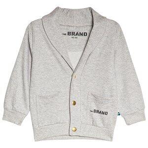 The BRAND Grey Mel Cardigan 104/110 cm