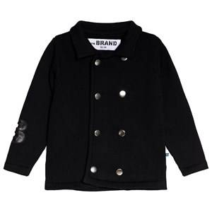 The BRAND Black Double Knit Cardigan 80/86 cm