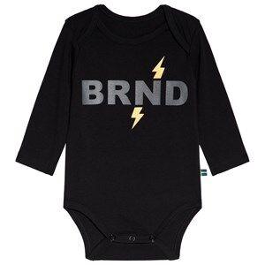 The BRAND Black Lightning Baby Body 68/74 cm
