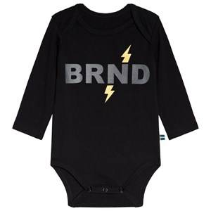 The BRAND Black Lightning Baby Body 92/98 cm