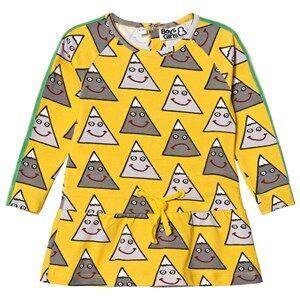 Image of Boys & Girls Happy Mountain Dress Yellow 1-2 years
