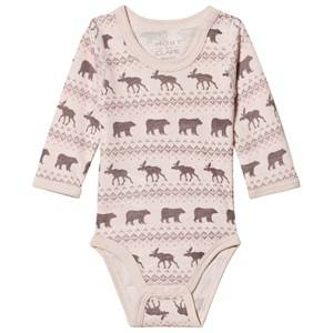 Image of Hust&Claire; Pink Baloo Baby Body 56 cm (1-2 Months)
