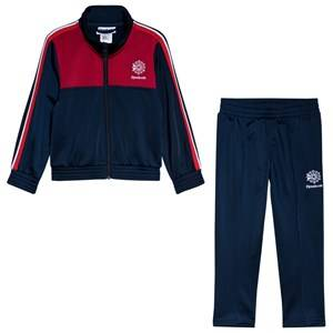 Reebok Branded Classic Tracksuit Navy/Red 5-6 years