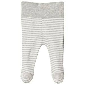 Image of Fixoni Premature Footed Pants Light Grey Melange 56 cm (1-2 Months)