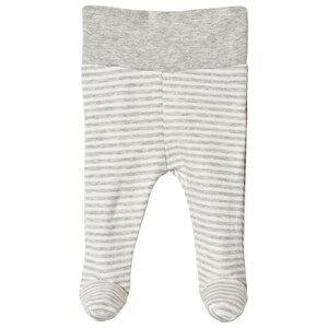 Image of Fixoni Premature Footed Pants Light Grey Melange 44 cm (premature)
