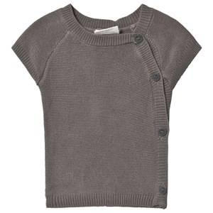 Fixoni Premature Knitted Sweater Grey Melange 50 cm (0-1 Months)
