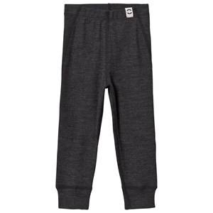 Mikk-Line Wool Pants Lancaster Grey Melange 128 cm (7-8 Years)