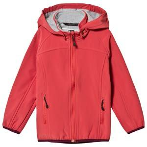 Mikk-Line Soft Shell Jacket Mineral Red Shell jackets
