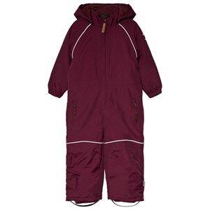 Mikk-Line Nylon Junior overall Solid Fig Ski suits