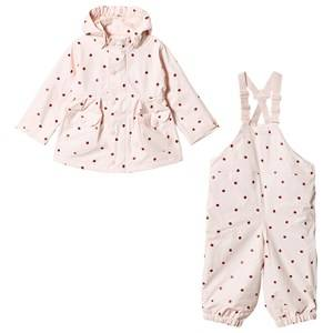 Image of Mini A Ture Charlene Robin Rain Set Crma De Peche 128 cm (7-8 Years)