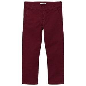 Image of Dr Kid Burgundy Corduroy Pants 6 months