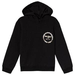 Image of Boy London Black and White Eagle Print Hoodie 3-4 years