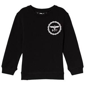 Image of Boy London Black and White Eagle Print Sweatshirt 3-4 years