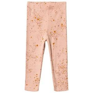 Image of Soft Gallery Paula Baby Leggings Peach Perfect Mini Splash 18 Months