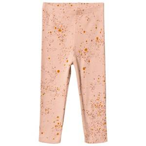 Image of Soft Gallery Paula Baby Leggings Peach Perfect Mini Splash 9 Months