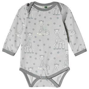 Smfolk Sophie the Giraffe Baby Body Grey 62cm (3 months)
