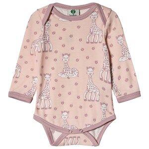 Smfolk Sophie the Giraffe Baby Body Pink 62cm (3 months)