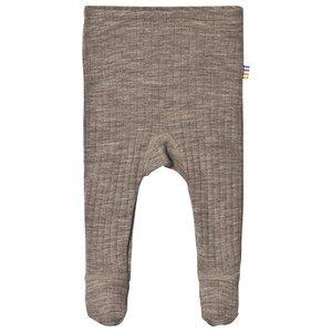 Image of Joha Leggings w.foot Sesame Mel 80 cm (9-12 Months)