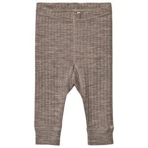 Joha Merino Wool Leggings Sesame Melange 140 cm (9-10 Years)