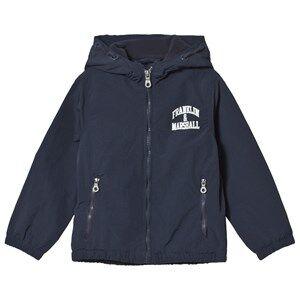 Marshall Franklin & Marshall Navy Fleece Windcheater Jacket 7-8 years