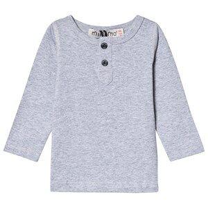 Image of Minymo Grandpa T-Shirt Light Grey Melange 152 cm (11-12 Years)