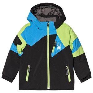 Spyder Black and Fresh Leader Jacket Ski jackets