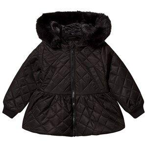 The BRAND Peplum Coat Black 92/98 cm