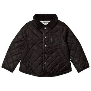 The BRAND Quilted Jacket Black 80/86 cm