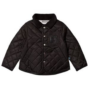 The BRAND Quilted Jacket Black 92/98 cm