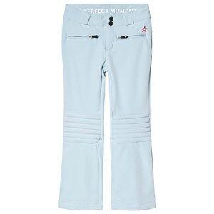 Perfect Moment Aurora Flare Ski Pants Alaska Blue Ski pants and salopettes