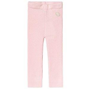 Lillelam Basic Rib Pants Pink 80 cm (9-12 Months)