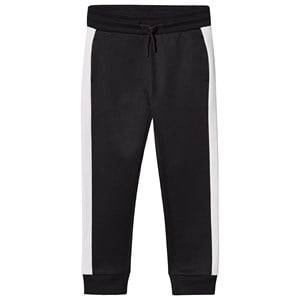 Image of Calvin Klein Jeans Black Branded Sweatpants 6 years