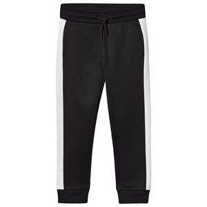 Image of Calvin Klein Jeans Black Branded Sweatpants 4 years