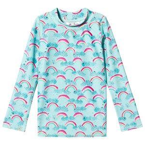 Image of Soft Gallery Astin Sun Shirt Blue Tint/Rainbow 2 Years