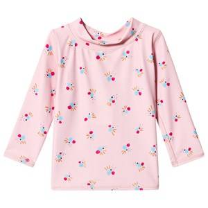 Image of Soft Gallery Astin Baby Sun Shirt Chintz Rose/Cockatoo Swim 18 Months