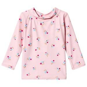 Image of Soft Gallery Astin Baby Sun Shirt Chintz Rose/Cockatoo Swim 9 Months