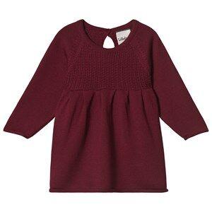 Lillelam Dress Christmas Cherry 74 cm (6-9 Months)