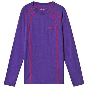 Bergans Primula Purple Timothy Long Sleeve Shirt 128 cm