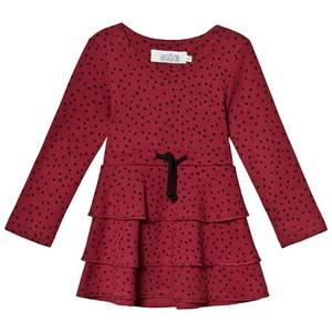 Image of Anve For The Minors Tiny Dots Frill Dress 1-2 Years