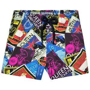 Vilebrequin Multi Color Queen Tour Mini Me Swim Shorts 8 years