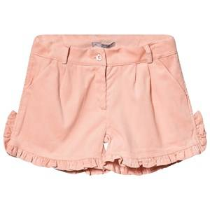 Image of Dr Kid Pink Courdroy Frill Side Shorts 6 years