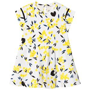 Image of Catimini White Floral Jersey Dress 12 years
