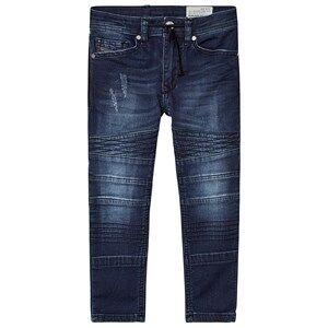 Diesel Blue Biker Style Bakari Jog Jeans 14 years