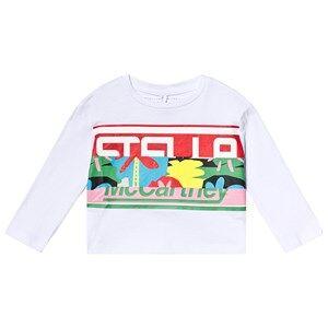 Stella McCartney Kids White Stella Print Tee 6 years