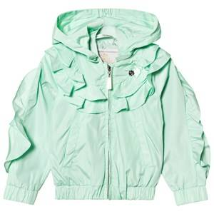 Le Chic Mint Ruffle Coat 128 (7-8 years)