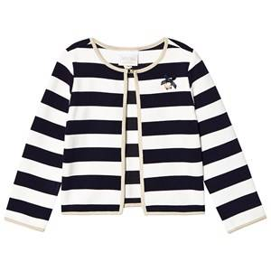 Le Chic Navy and Cream Top 104 (3-4 years)