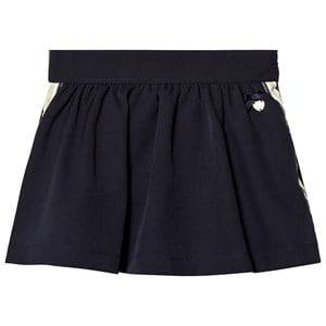 Le Chic Navy Side Stripe and Glitter Skirt 128 (7-8 years)