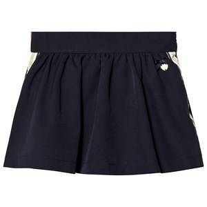 Le Chic Navy Side Stripe and Glitter Skirt 104 (3-4 years)