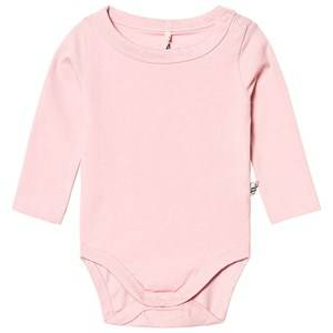 A Happy Brand Long Sleeve Baby Body Pink 50/56 cm